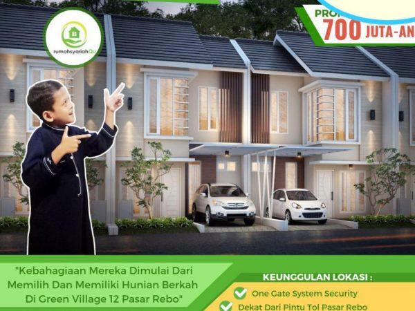 Perumahan Syariah Green Village 12 Pasar Rebo Jakarta Timur