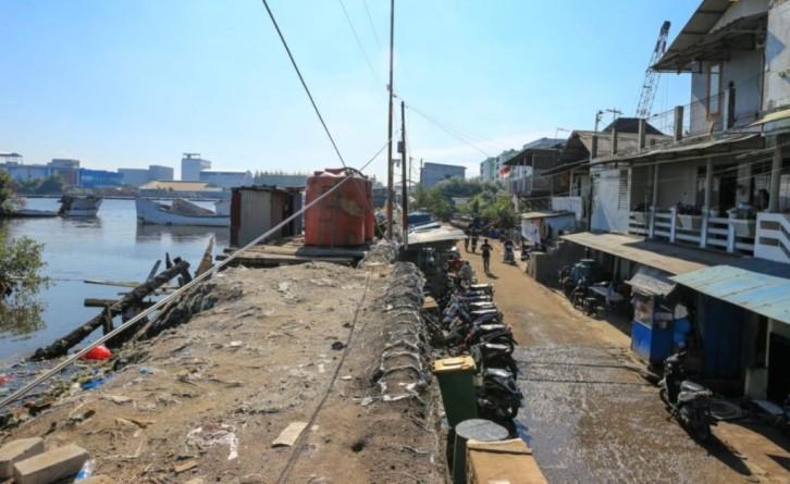 Pemerintah Pusat-Pemprov DKI Bahu Membahu Bangun Tanggul Laut